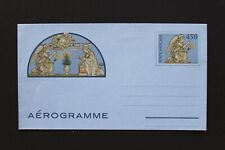 VATICAN 1982 Aerogram 450 lire Angel with flowers unused