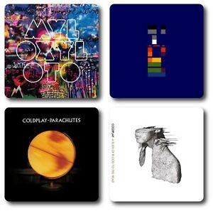 Coldplay 4 Piece Coaster Set