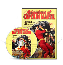 Adventures of Captain Marvel (1941) Complete 12 Chapter TV Serial (2 x DVD)