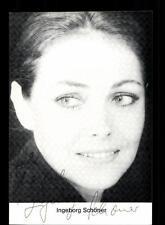 Ingeborg Schöner Autogrammkarte Original Signiert # BC 58806