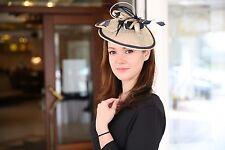 Cabello Fascinator joyas sombreros señora cabeza joyas diadema ocasión sombreros boda nuevo