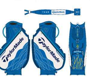 NEW 2021 TaylorMade PGA Championship Limited Edition Blue/White Golf Staff Bag