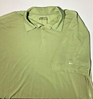 Nike Golf Mens Short Sleeve Polo Shirt Fit Dry Size XL Green