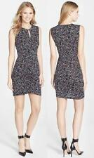 NWT French Connection Confetti Grid Jersey Sleeveless Dress 12