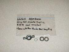 Welbilt Bread Machine Wing Nut Impeller Coupling Model Abm8200 (Bmpf)