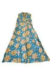 New OILILY WOMEN LONG SLEEVE VISCOSE DRESS Size Large