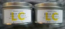 Trader Joe's Lemon Cookie Scented Candle ( set of 2)