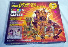 Advanced Dungeons & Dragons - Color & Build Castle 1983 TSR - UNUSED - MINT!!!!
