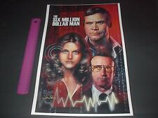 THE SIX MILLION DOLLAR MAN BIONIC WOMAN OSCAR GOLDMAN OSI POSTER PIN UP
