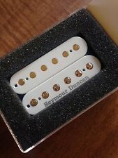 Seymour Duncan Pearly Gates Humbucker Bridge Pickup White Gold Poles SHPG-1b