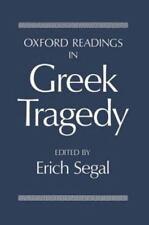 Oxford Readings in Greek Tragedy