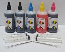 500ml Bulk refill dye ink bottle for HP Canon Brother Lexmark Epson CISS NY