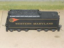 Mantua HO Parts Western Maryland Long Haul Steam Locomotive Tender EX