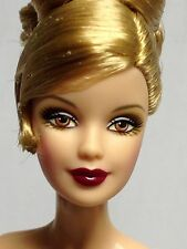 Nude Collector Edition Barbie Doll Mackie Model Muse Updo Blonde