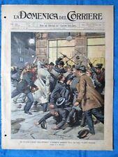 La Domenica del Corriere 16 novembre 1902 Innsbruck - Mar Rosso - Carnegie