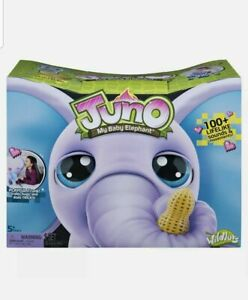 *NEW* Kid's Juno My Baby Elephant Interactive Moving Trunk Over 150 Sounds