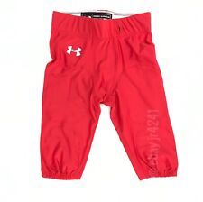 Under Armour Custom Football Performance Pants Men/'s L Maroon Columbia UFPCNT