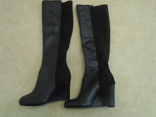 BODEN GREAT VALUE BLACK COLOUR   WEDGE  STRETCH  BOOTS SIZE ==SIZE 36==3