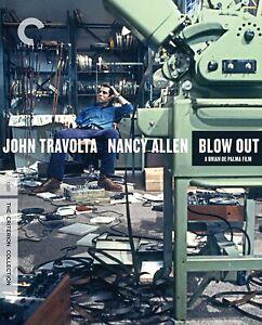 BLOW OUT [Criterion Collection] [Blu-ray] John Travolta/Karen Allen NEW!