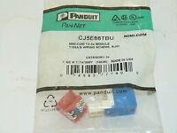 Panduit CJ5E88TBU Mini-Com TX-5e Module NEW