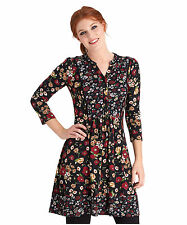 Viscose 3/4 Sleeve Tunic Dresses for Women