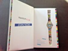 Swatch Club 2014 Limited Edition Gift Set White Loop Box Set NEW NIP Collector