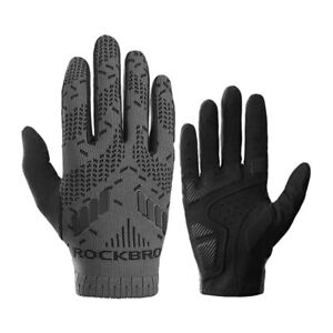 ROCKBROS Bicycle Gloves SBR Cycling Breathable Touch Screen MTB Road Bike Gloves