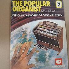 all organ THE POPULAR ORGANIST Derek Bellwood Book 2