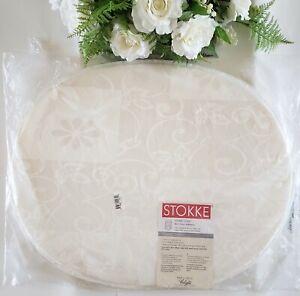"Stokke Sleepi Mini Thin Foam Mattress 29 x 23.5 x 1"" Thick Color Cream"