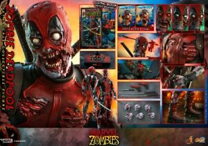 Hot Toys Marvel Zombies 1/6th scale Zombie Deadpool Collectible Figure CMS06