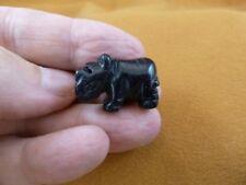(Y-Rhi-517) Blue goldstone Rhino rhinoceros gemstone Stone Figurine love rhinos