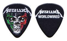 Metallica Hardwired...To Self-Destruct Italy Skull Promo Guitar Pick - 2017
