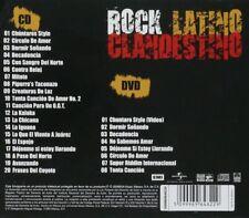 El Gran silencio Rock Latino Clandestino  CD+DVD New sealed Nuevo