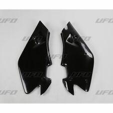 UFO Husqvarna CR 125 250 360 2 tiempos Motocross Paneles Laterales Negro