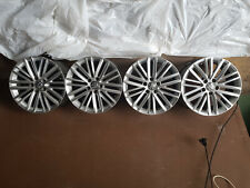 4 Alu-Felgen, Original VW (Fortaleza), ohne Reifen, eine Felge beschädigt