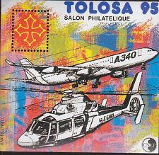 TIMBRE BLOC  C.N.E.P N° 20  TOLOSA 95     DENTELE
