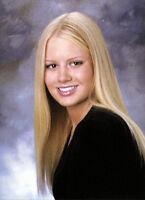 ANNA SOPHIA BERGLUND  High School Yearbook PLAYMATE  SENIOR Year