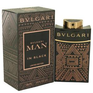 Bvlgari Man In Black Essence Men's Cologne 3.3oz/100ml Eau De Parfum Spray