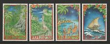 Fiji 2000 Christmas set SG 1111-1114 Mnh.