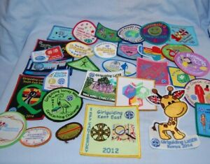 Vintage Girl Guide Patches Lots of Different Patches  Free Post