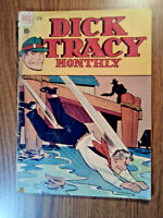 DICK TRACY monthly #6 vintage DELL comic book (golden age)