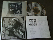 VINCE NEIL, MOTLEY CRUE / exposed +2 /JAPAN LTD CD