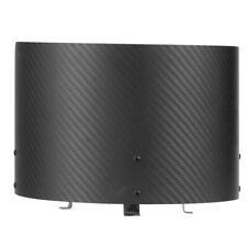 Carbon Fiber Air Intake Cone Cover Air Filter Heat Shield Universal Auto Carbon