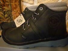 3a1b130f2eb260 Chaussures montantes PALLADIUM Pointure 37 noir et gris en cuir NEUVES