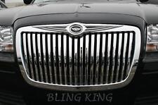 05-2010 Chrysler 300 chrome vertical grill Bentley grille wing emblem badge
