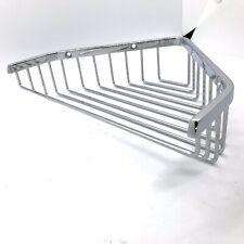 Bathroom Wire Corner Shower Shelf Basket Organiser Rack Soap Caddy Chrome