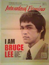 "Bruce Lee Cover Newspaper 2012 International Examiner ""I am Bruce Lee """