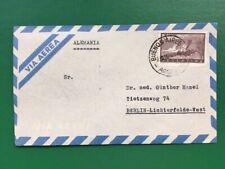 Argentinien LP Brief nach Berlin-Lichterfelde 1956?