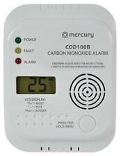 Mercury 350.135 COD100B Carbon Monoxide Monitor And Alarm LED Status Indicators