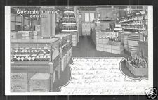 Cleveland Boehme Wine Co. Store Shop OH Ohio ca 1901